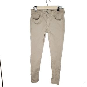 American Eagle Outfitters Khaki Super Stretch